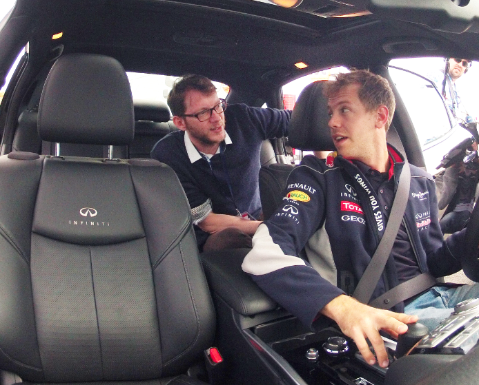 Weltmeister Sebastian Vettel im Mode-Interview