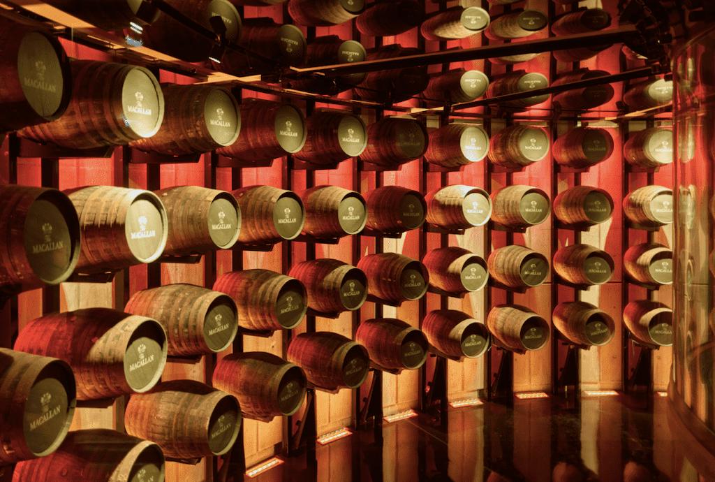Macallens moderner Whiskykeller