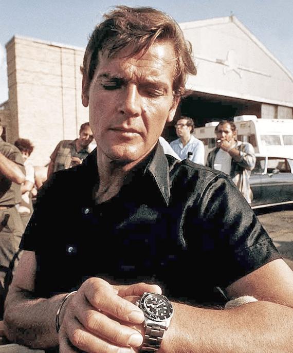 James Bond mit der Rolex 5512 Submariner - CREDIT Twitter