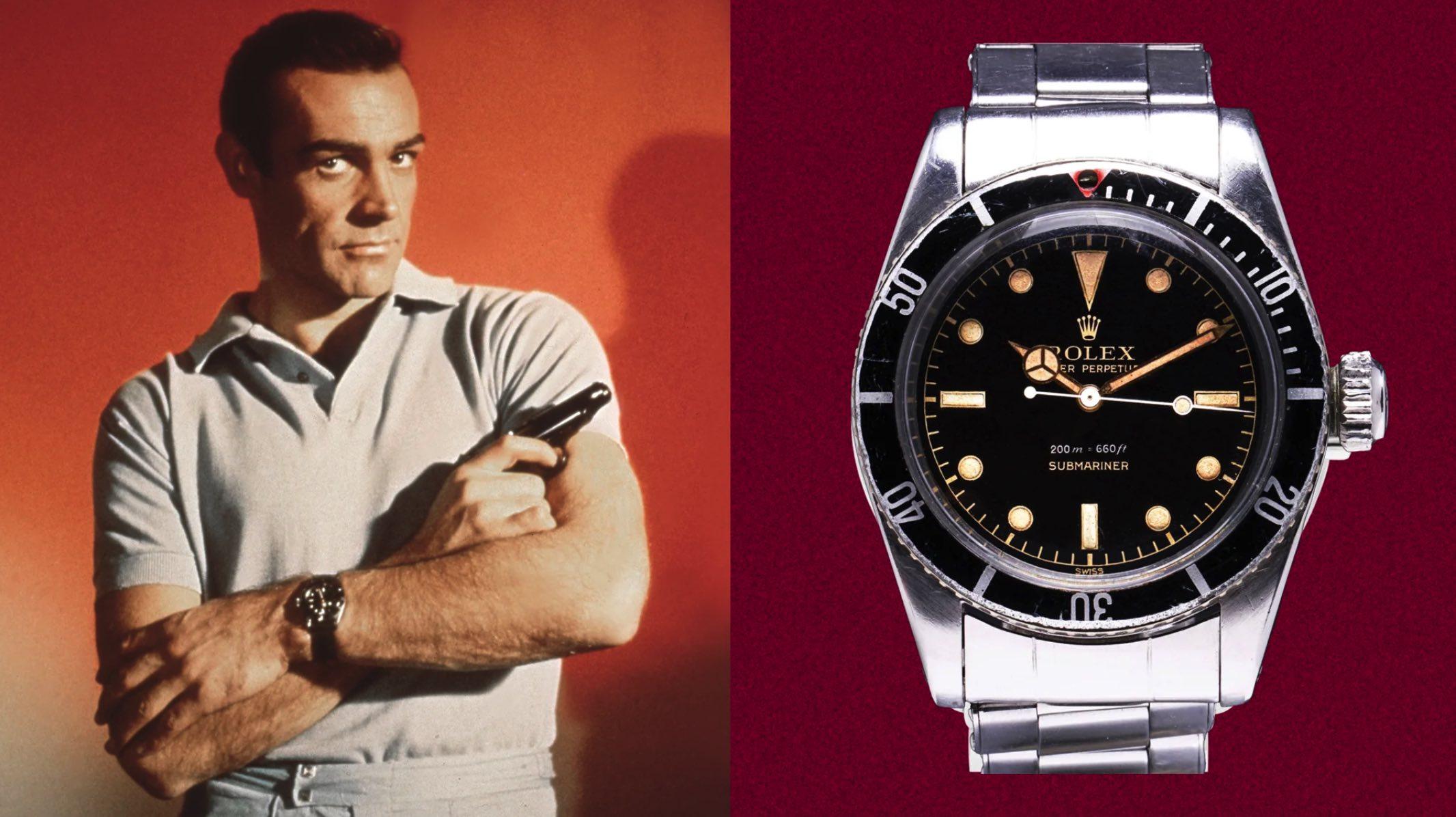 No Time To Die: Rückblick auf sechs Jahrzehnte Bond-Uhren