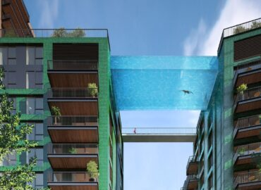 """Sky Pool"" in London"