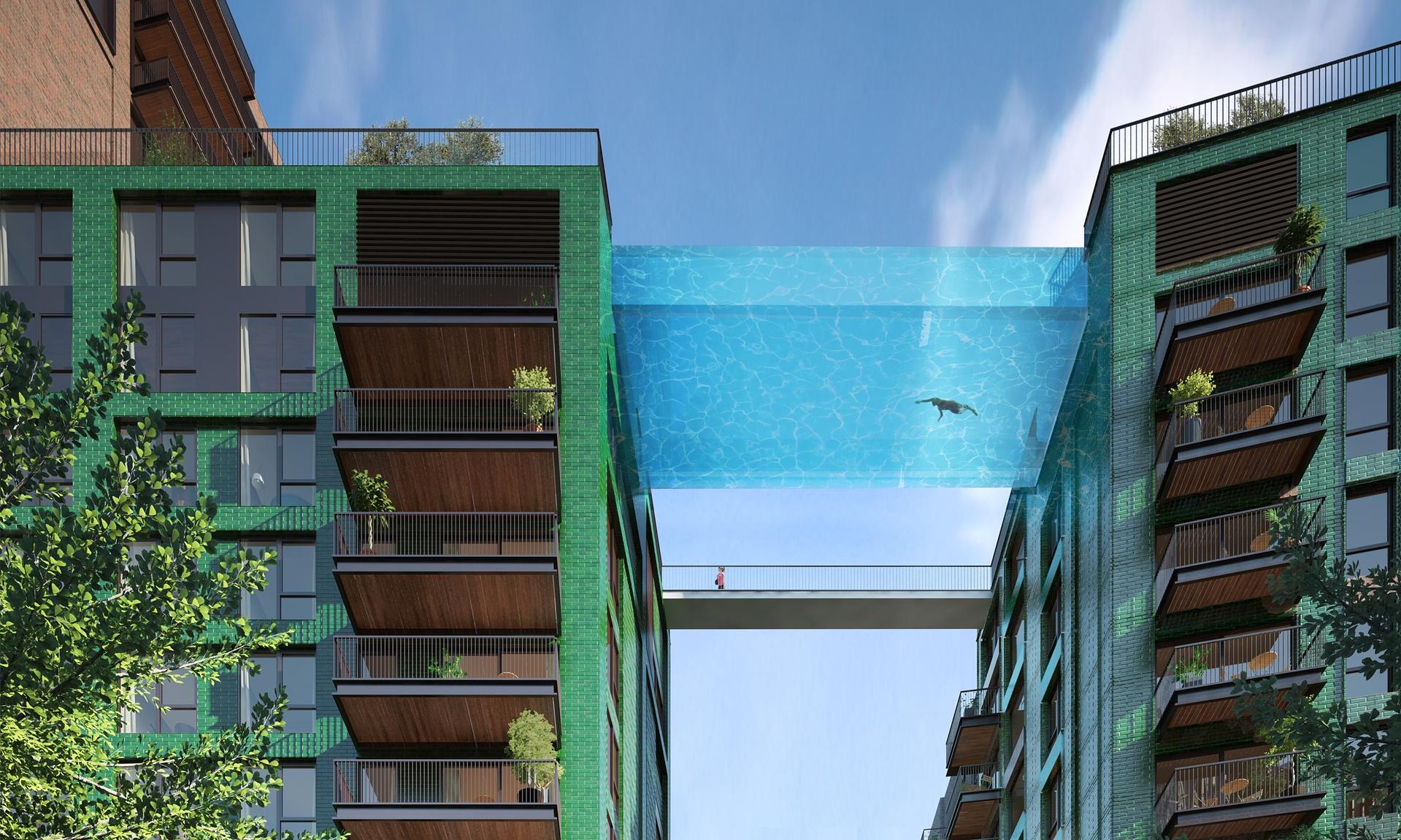"""Sky Pool"" in London"