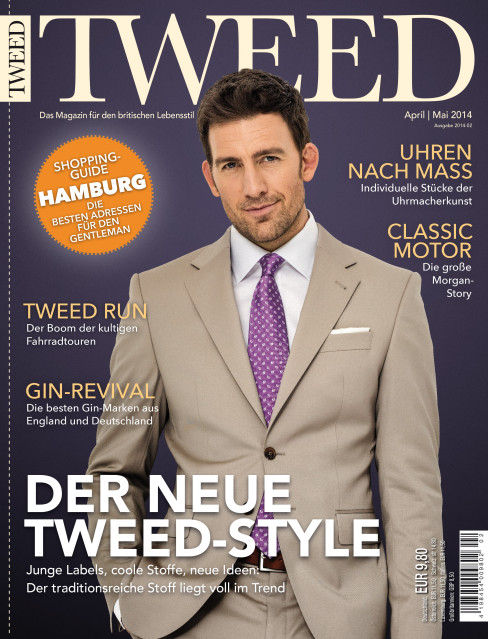 Cover des Tweed-Magazins