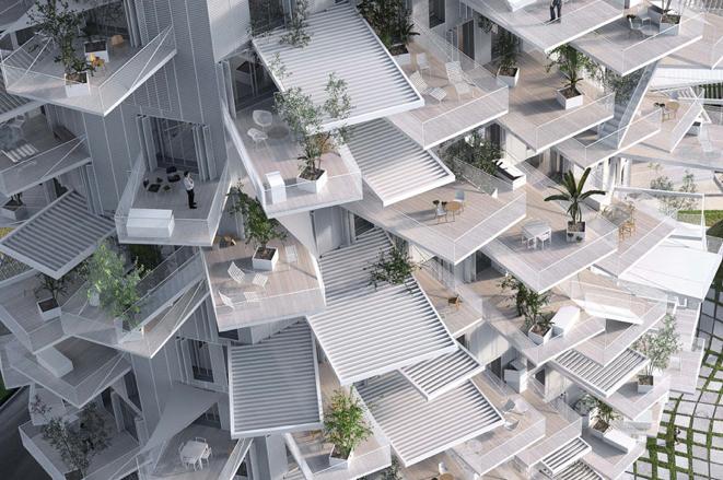 Architektur trifft Natur: Leben im Baumhochhaus
