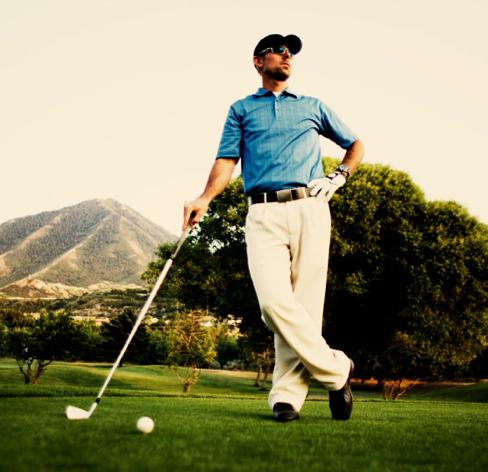 Gentleman-Sport: Golf