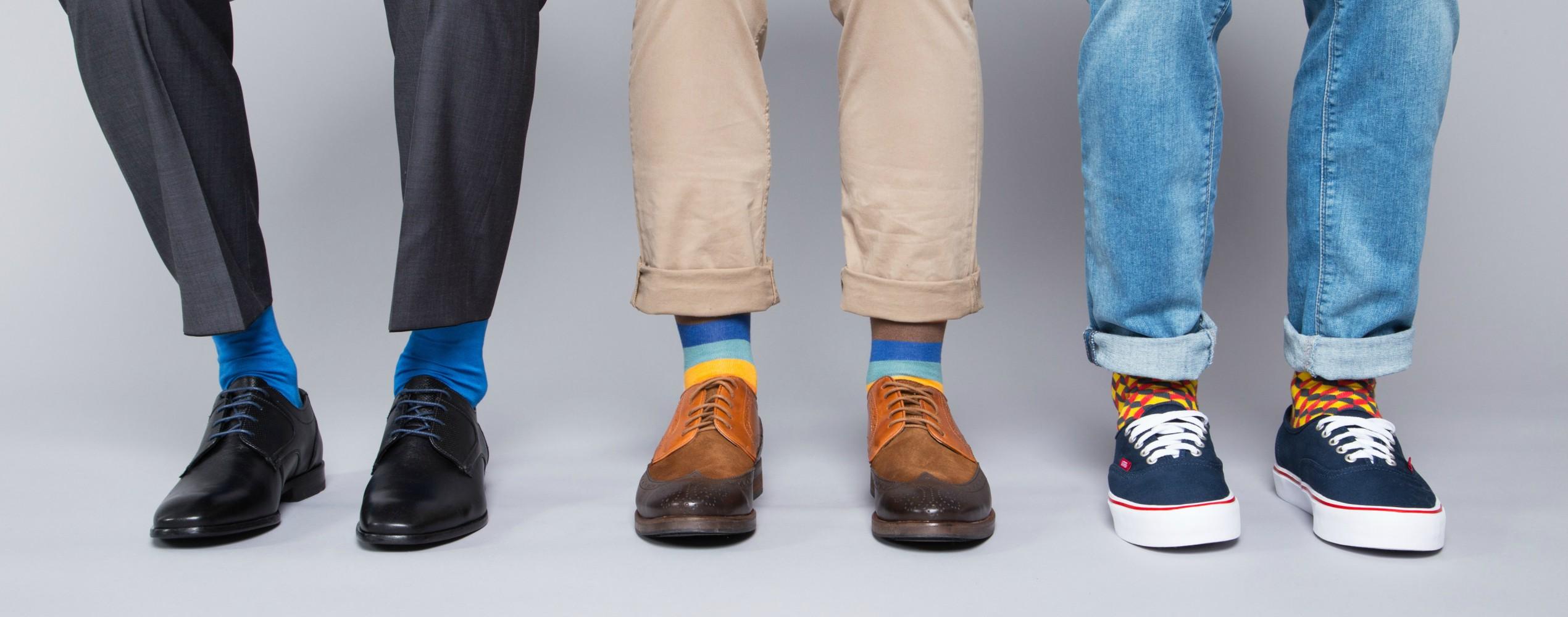Bunte Socken machen schlau!