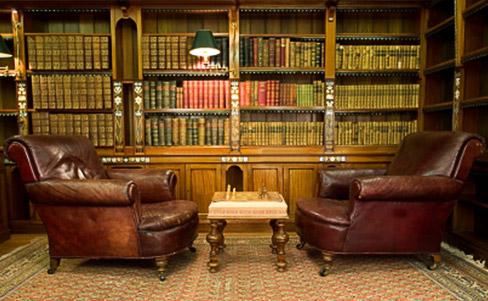 Luxus nicht nur für Intellektuelle: Die Bibliothek für zu Hause