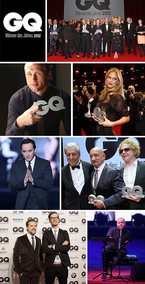 Wie viel Gentleman steckt in den 'GQ Männern des Jahres 2012'?