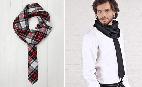 Andtie: Schal und Krawatte in einem