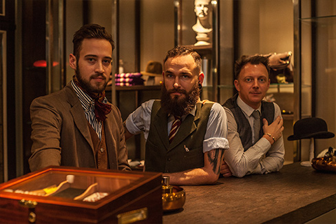 Auf den Spuren des perfekten Barts – zu Besuch im Gentlemen's Circle