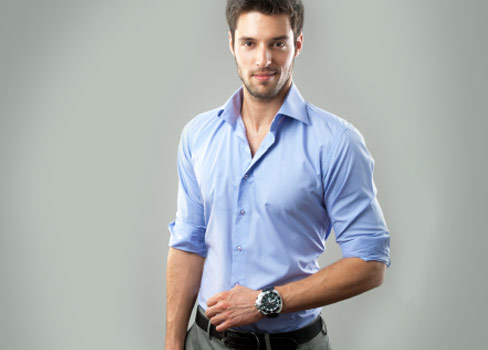 Kleidungs-Tipps für große Männer