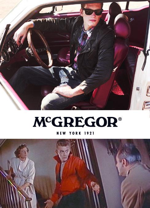 Die neue McGregor Kollektion – Inspiriert von James Dean