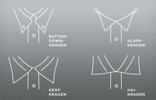 Hemdkragen: Button-Down und Co.