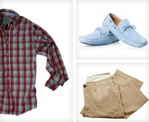 Stil-Elemente der Preppy-Mode