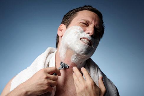 Problemzone: Männerhaut nach der Rasur