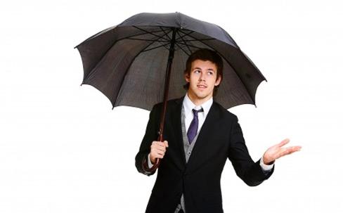 Regenschirm: klischeehaftes wie nützliches Gentleman-Accessoire