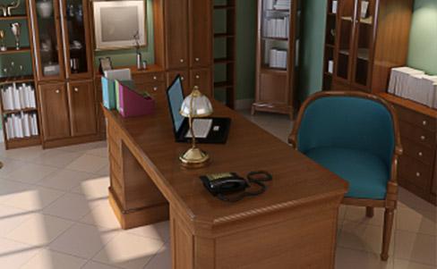 Vom Schreibtisch eines Mannes