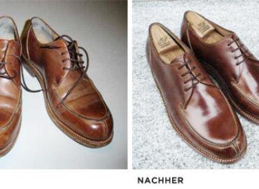 Schuhpflege: Die Wiedergeburt gebrauchter Schuhe