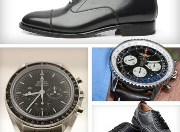 Welche Uhr passt zu welchem Schuh?
